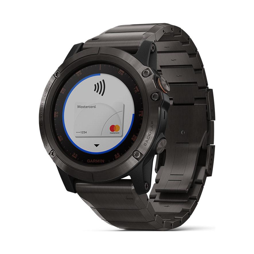 Garmin Smartwatch Fenix 5X Plus Sapphire 40-36-1364