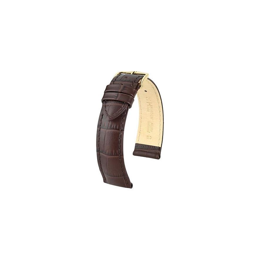 Hirsch Uhrenarmband Leder 01028010119