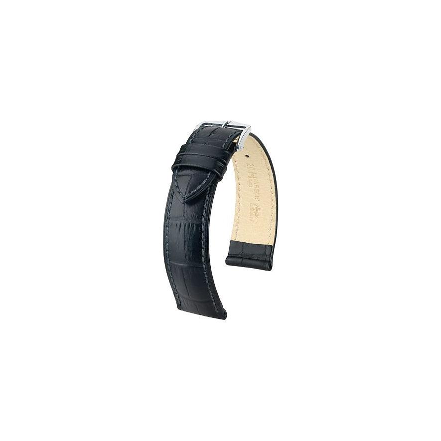 Hirsch Uhrenarmband Leder 01028250-2-18