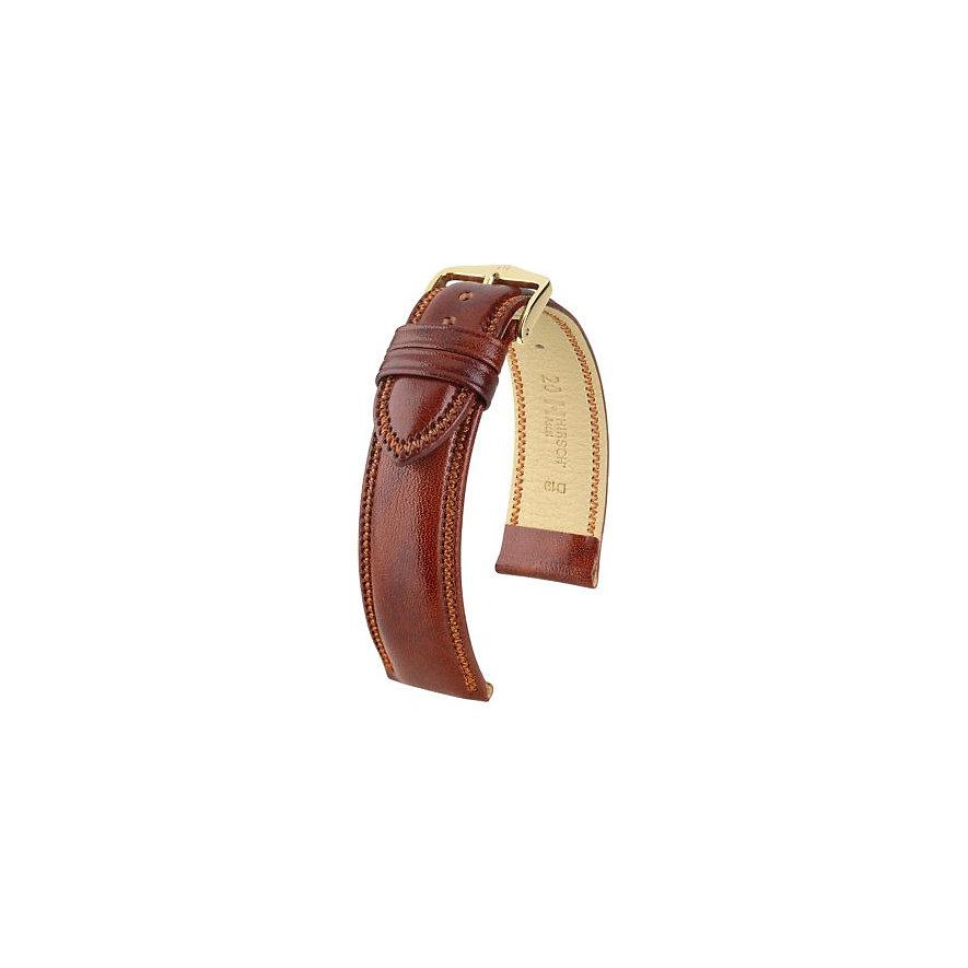 Hirsch Uhrenarmband Leder 01575070118