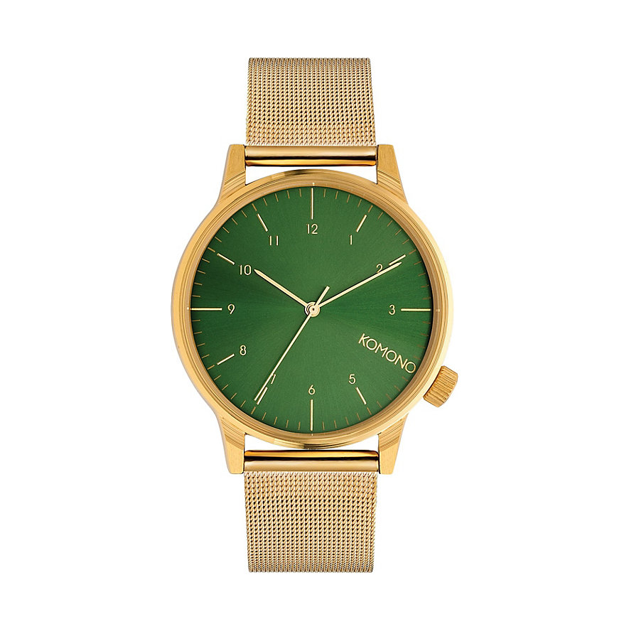 Komono Herrenuhr Winston Royale Gold Green KOMW2355