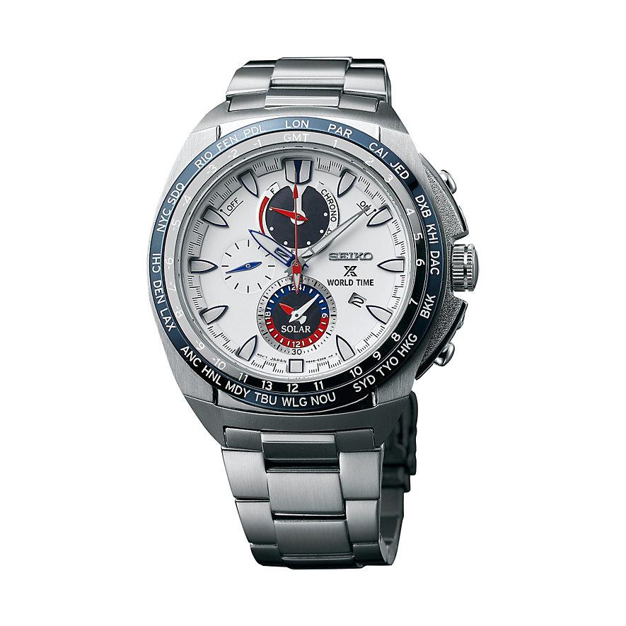 Seiko Chronograph Prospex Solar World Time SSC485P1