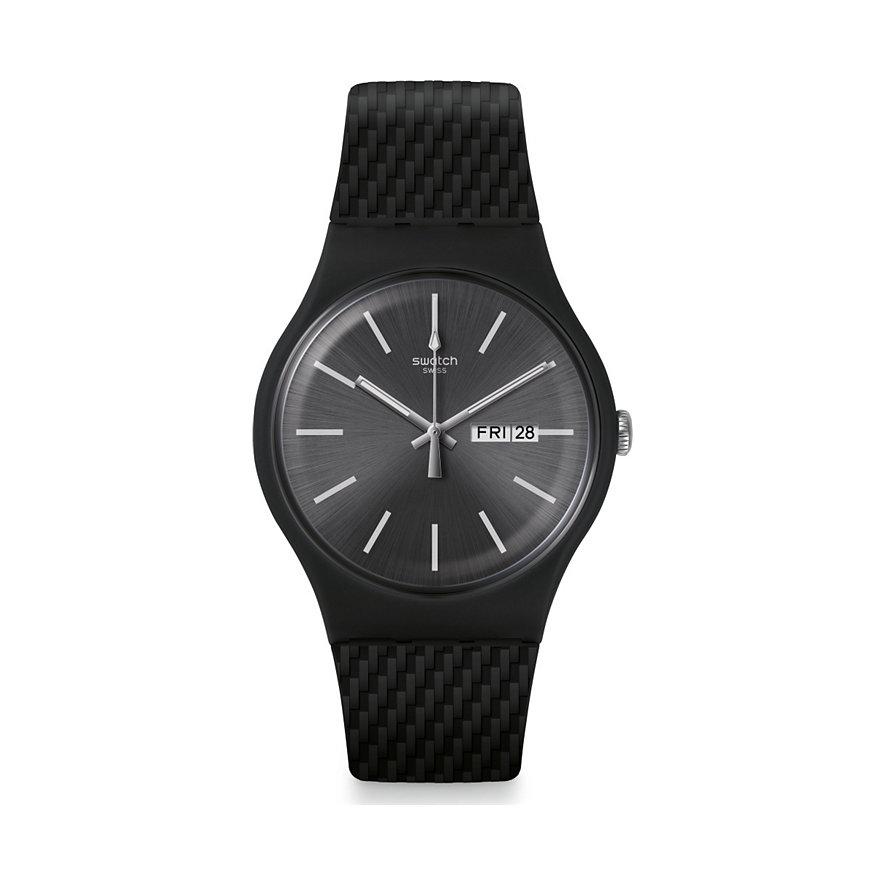 Swatch Unisexuhr Bricagris SUOM708
