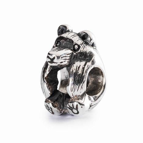 Armbaender für Frauen - Trollbeads Bead 925 Silber Kleiner Bär  - Onlineshop Goettgen