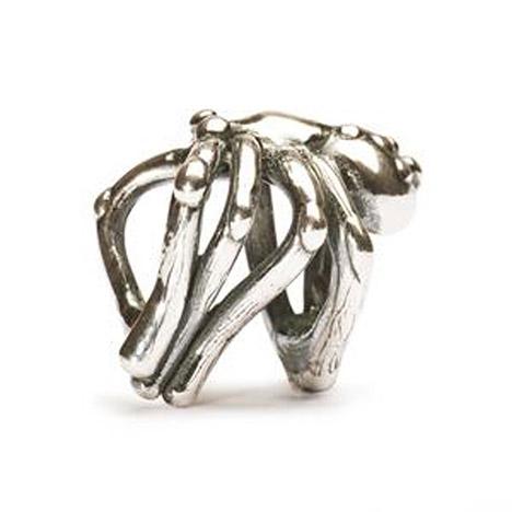 Armbaender für Frauen - Trollbeads Bead 925 Silber Spinne  - Onlineshop Goettgen