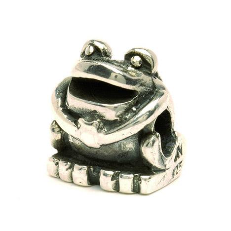 Armbaender für Frauen - Trollbeads Bead 925 Silber Frosch  - Onlineshop Goettgen