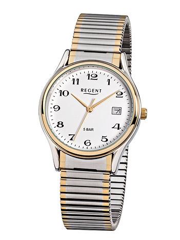 Regent Armbanduhr Herren Bicolor 5 bar