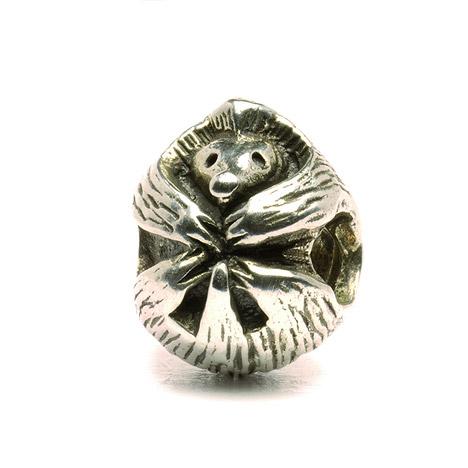 Armbaender für Frauen - Trollbeads Bead 925 Silber Stachelschwein  - Onlineshop Goettgen