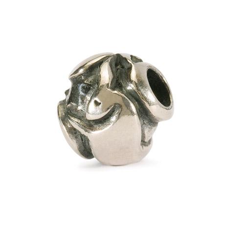 Armbaender für Frauen - Trollbeads Bead 925 Silber Stier  - Onlineshop Goettgen