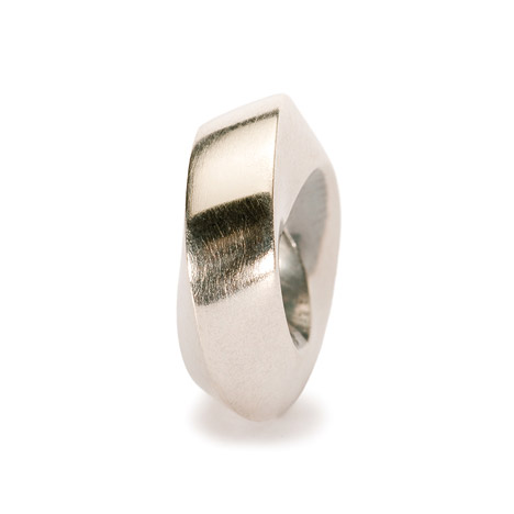 Armbaender für Frauen - Trollbeads Bead 925 Silber zwei Seiten  - Onlineshop Goettgen