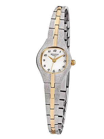Uhren - Regent Armbanduhr Damen Double Metallband  - Onlineshop Goettgen