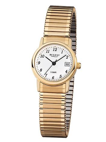 Regent Armbanduhr Damen Double Zugband 5 bar