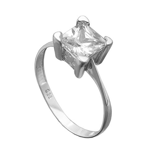Ringe - SIGO Ring, mit Zirkonia, Silber 925  - Onlineshop Goettgen