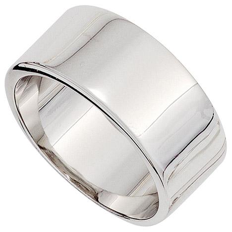 SIGO Damen Ring breit 925 Sterling Silber rhodiniert Silberring