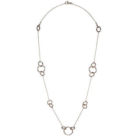 Damen Halskette Collier Edelstahl Kette Beads  42 cm 55 cm Venezianerkette
