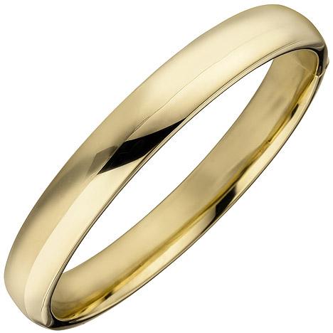 Armbaender - SIGO Armreif Armband 925 Sterling Silber gold vergoldet  - Onlineshop Goettgen