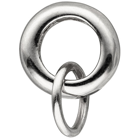 Armbaender - SIGO Anhänger Charmträger 925 Sterling Silber Silberanhänger für Charms  - Onlineshop Goettgen