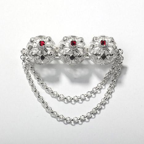 Broschen für Frauen - Goettgen Brosche Tracht 835 Silber  - Onlineshop Goettgen