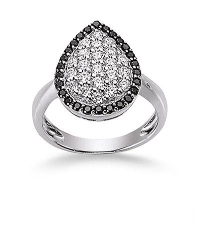 Ringe - Laura Coon Ring 925 Silber Zirkonia weiss, 56 17,8  - Onlineshop Goettgen
