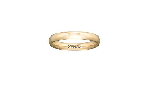 Ringe - XENOX Ring Edelstahl IP gelbgold, 56 17,8  - Onlineshop Goettgen