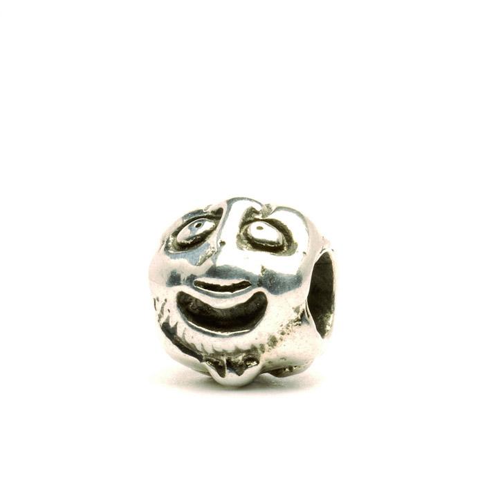 Bead 925 Silber Gesichter