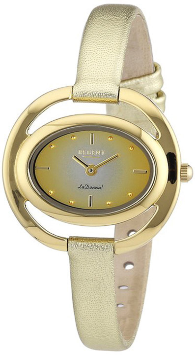 Armbanduhr Damen Double Lederband
