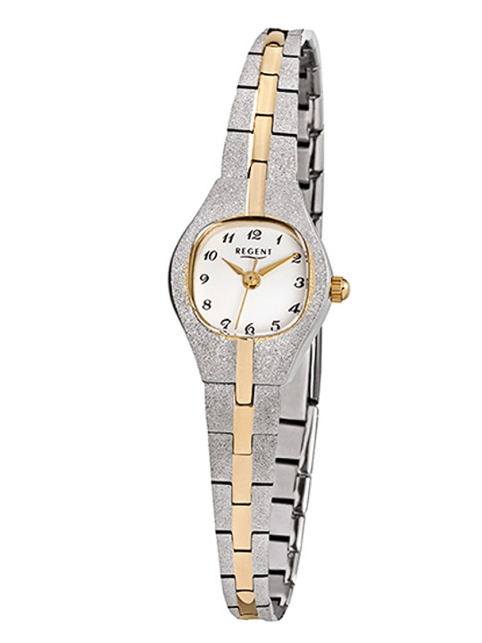 Armbanduhr Damen Double Metallband