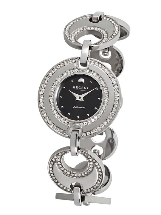 Armbanduhr Damen Edelstahl Metallband
