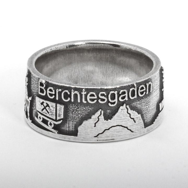 Berchtesgadener Ring 925 Sterling Silber