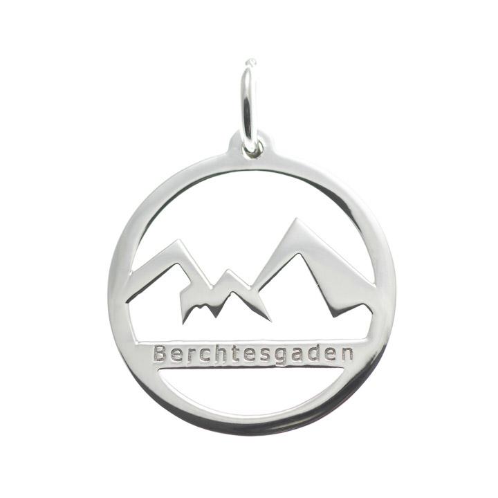 Anhänger Watzmann Berchtesgaden 925 Silber