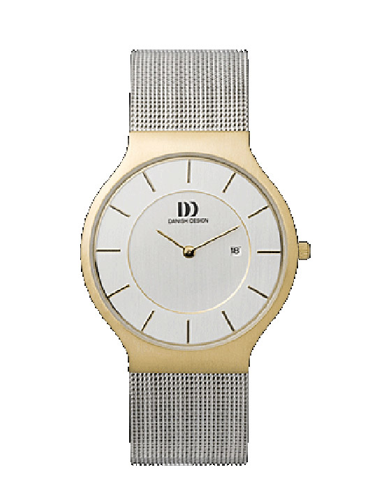 Armbanduhr Herren Bicolor Metallband