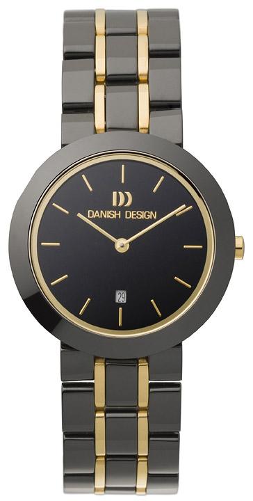 Armbanduhr Damen Keramik schwarz