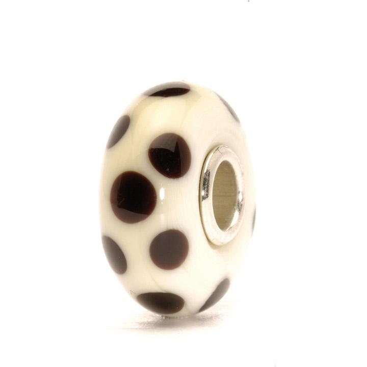Bead 925 Silber Braune Tupfen