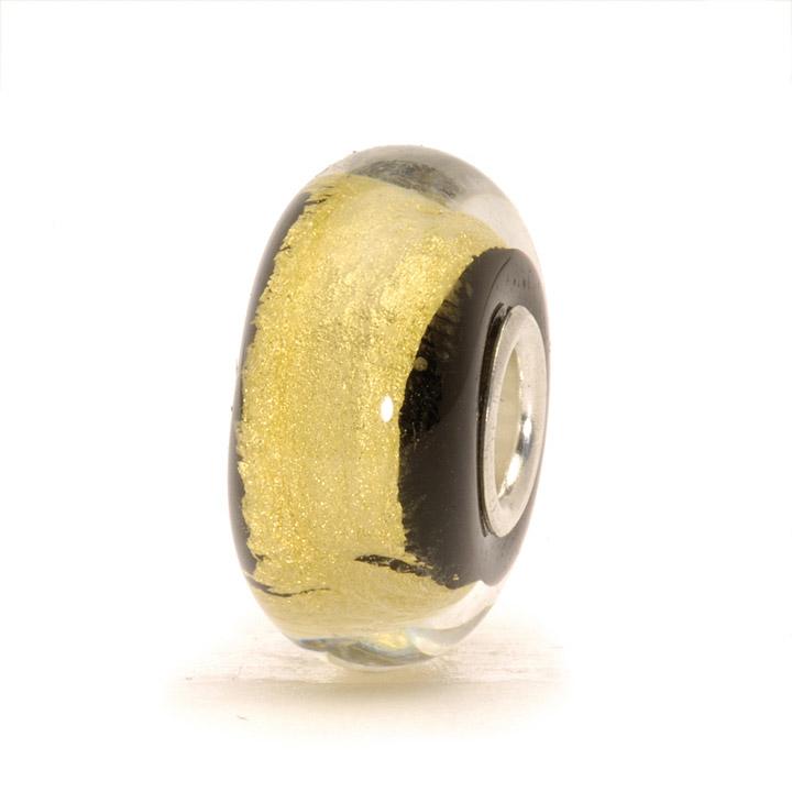 Bead 925 Silber Schwarzes Gold