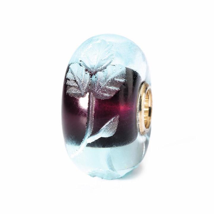 Bead 925 Silber Gravierter Azurit