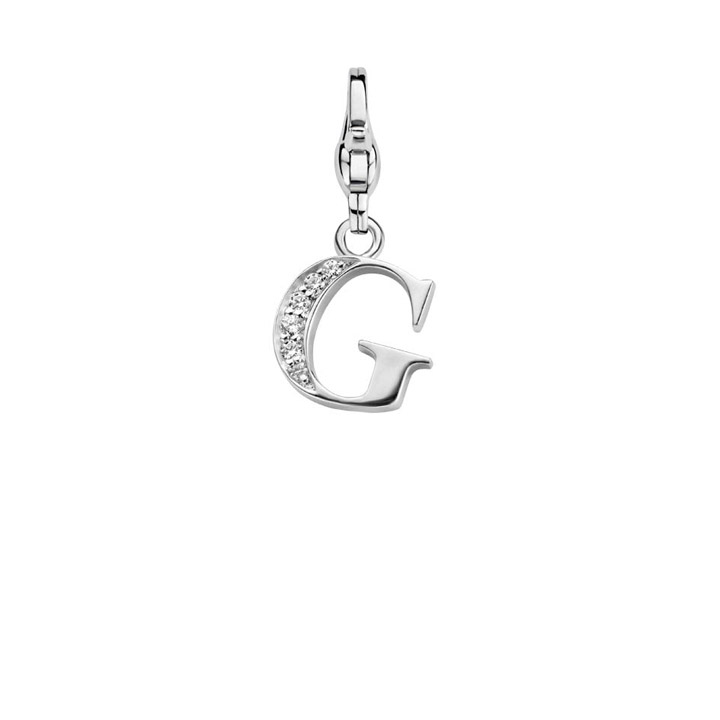 Charm 925 Silber Bedel Letter G