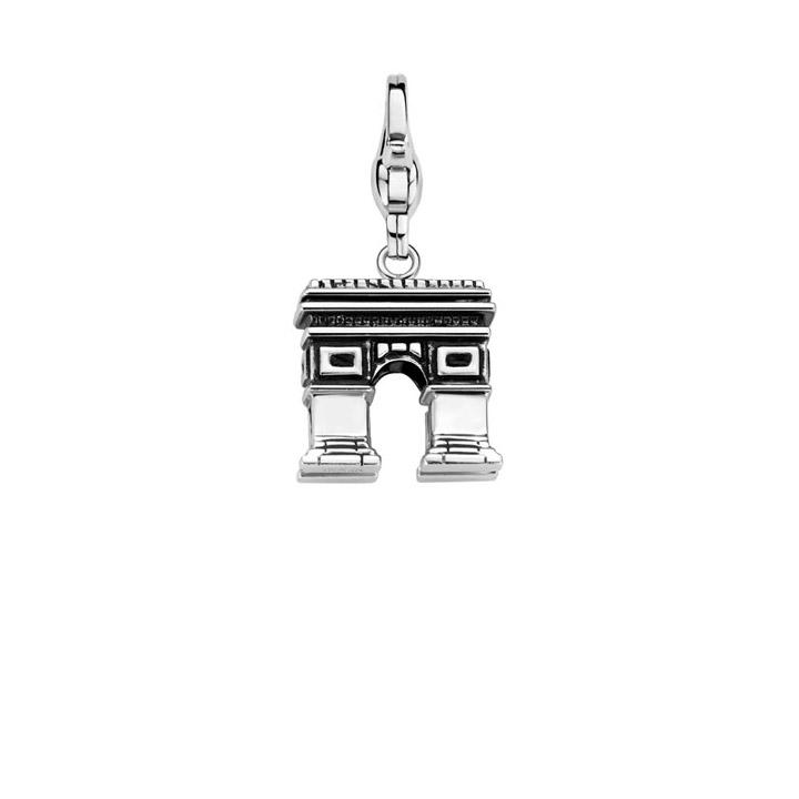 Charm 925 Silber Arc de Triomphe