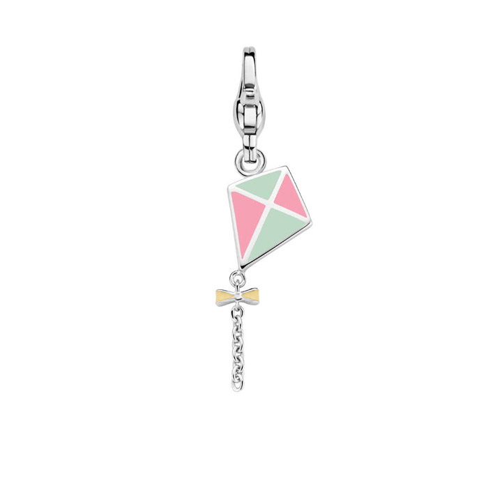 Charm 925 Silber Let\s Go Fly!