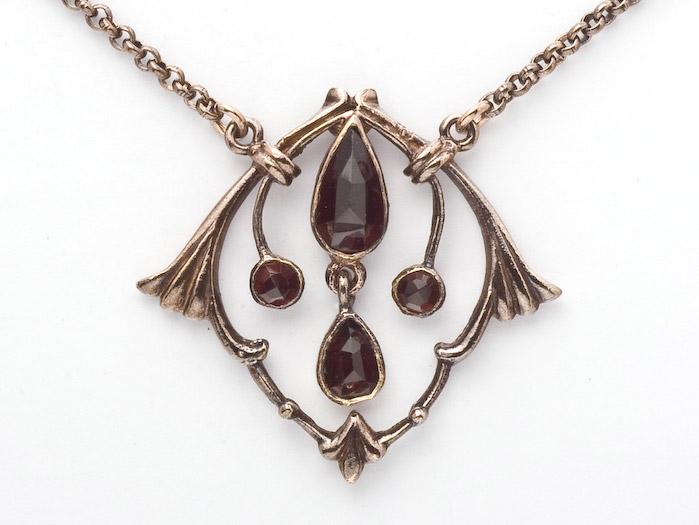 Collier Granat 925