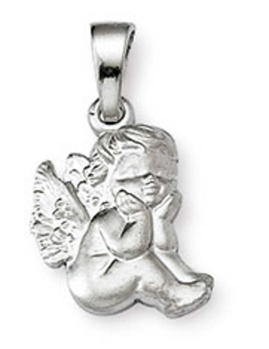 Anhänger Engel 925 Silber 12 mm