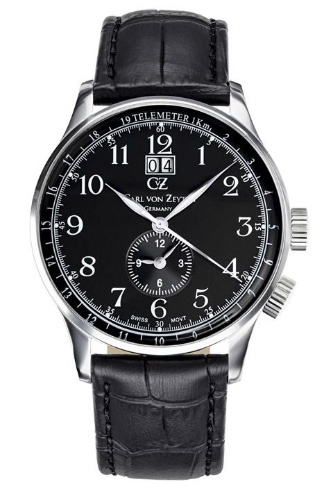 Armbanduhr Etterlin Big Date, 3 Zeiger, Dual Time