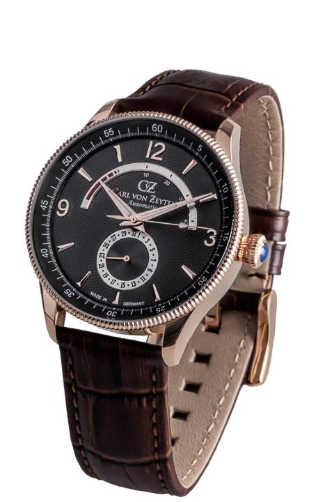 Armbanduhr Neuschwanstein 3 Zeiger, Power Reserve, Datum