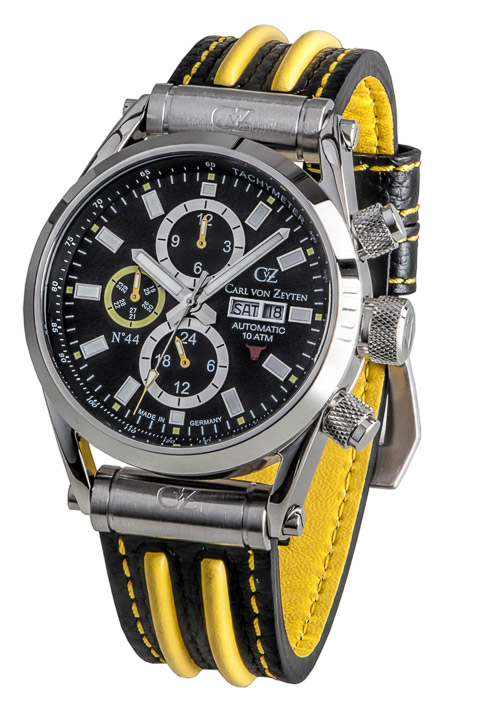Armbanduhr NO.44 Day Date, Jahr, Monat, 24h
