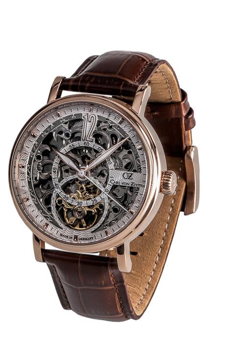 Armbanduhr Gaggenau Skelett, 3 Zeiger