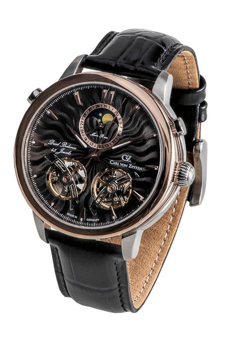 Armbanduhr Forbach Dual Balance, Mondphase, Datum, 3Zeiger