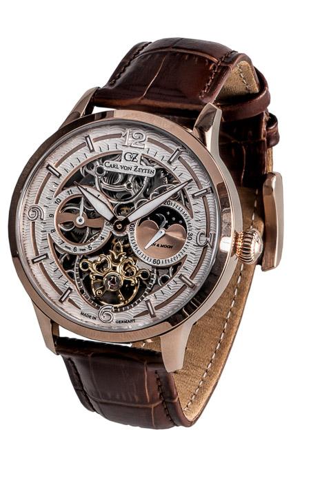 Armbanduhr Feldsee 2 Zeiger, Tag/Nacht Dual Time