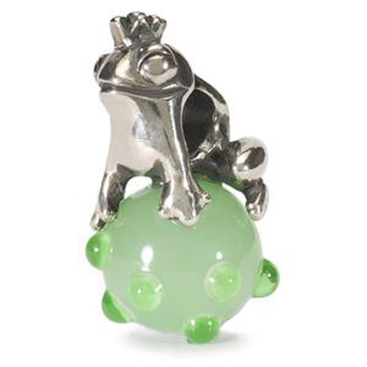 Bead 925 Silber Froschkönig