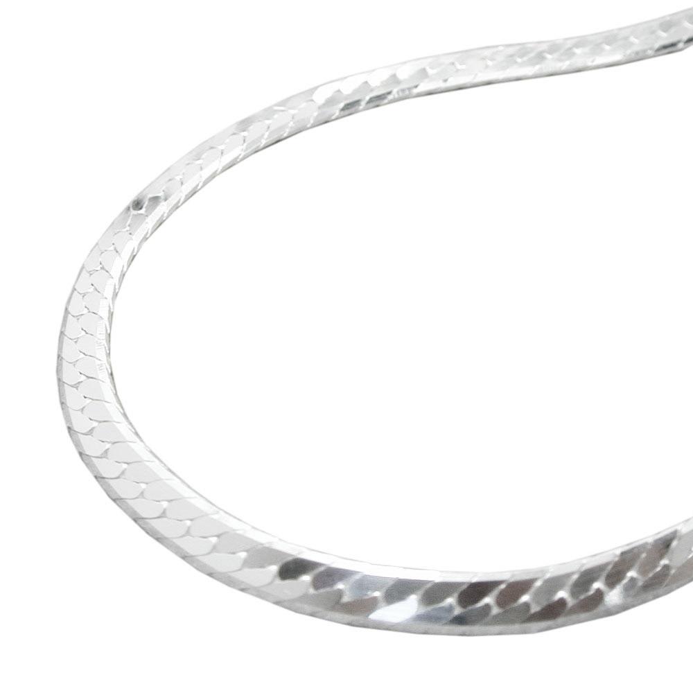 Armband, Panzer gedrückt, Silber 925