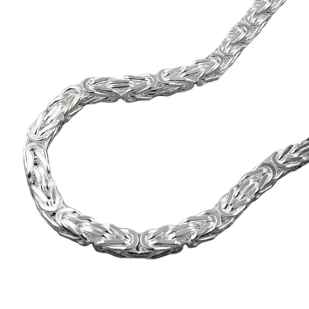 Kette, 3mm Königskette, Silber 925