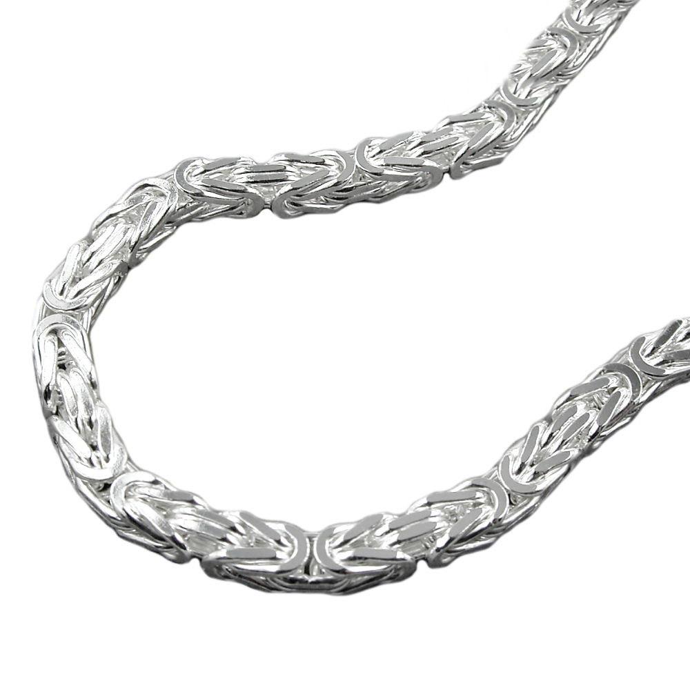 Kette, 4mm Königskette, Silber 925
